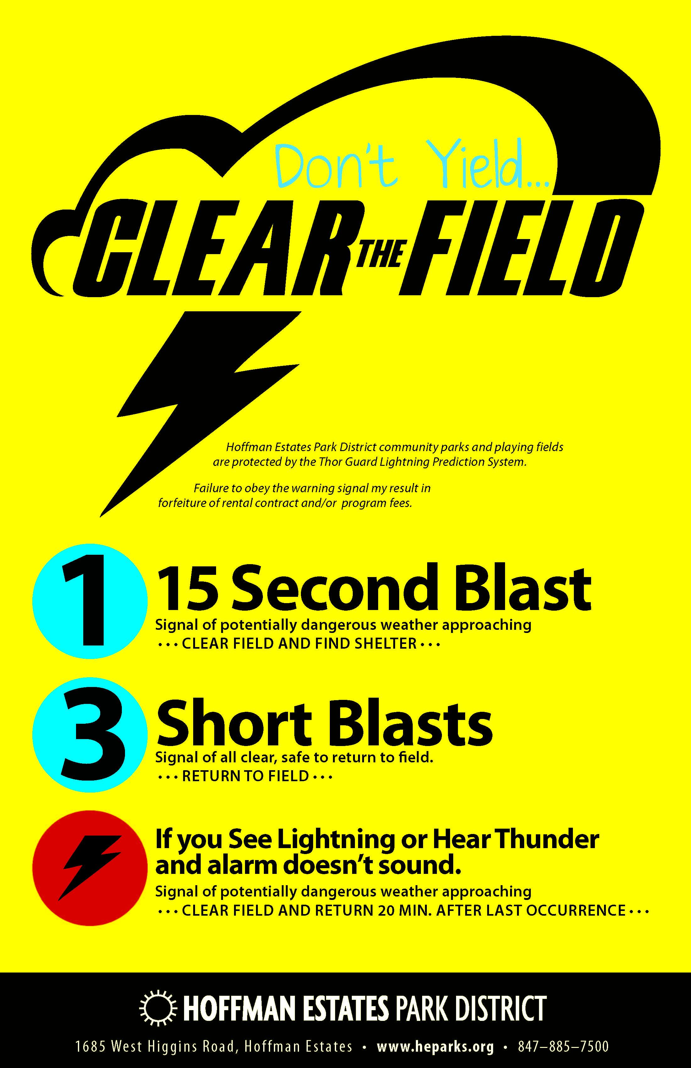 Best Alarm System >> Thor Guard Lightning Prediction System - Hoffman Estates Park District