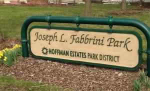 fabbrini park sign