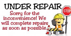 Under Repair 24x18