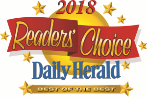 2018 Daily Herald Readers Choice Best of the Best Award logo