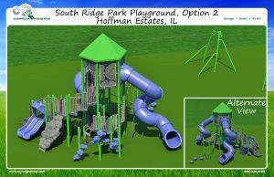Large 5-12 structure for South Ridge Playground