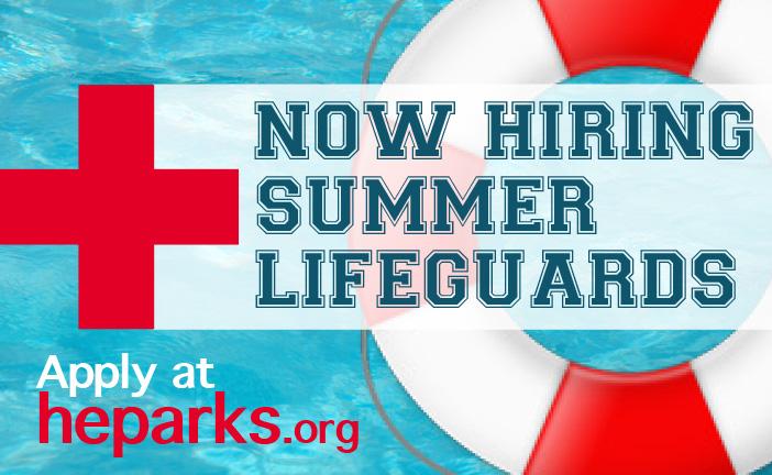 Now hiring summer lifeguards. $15 an hour.
