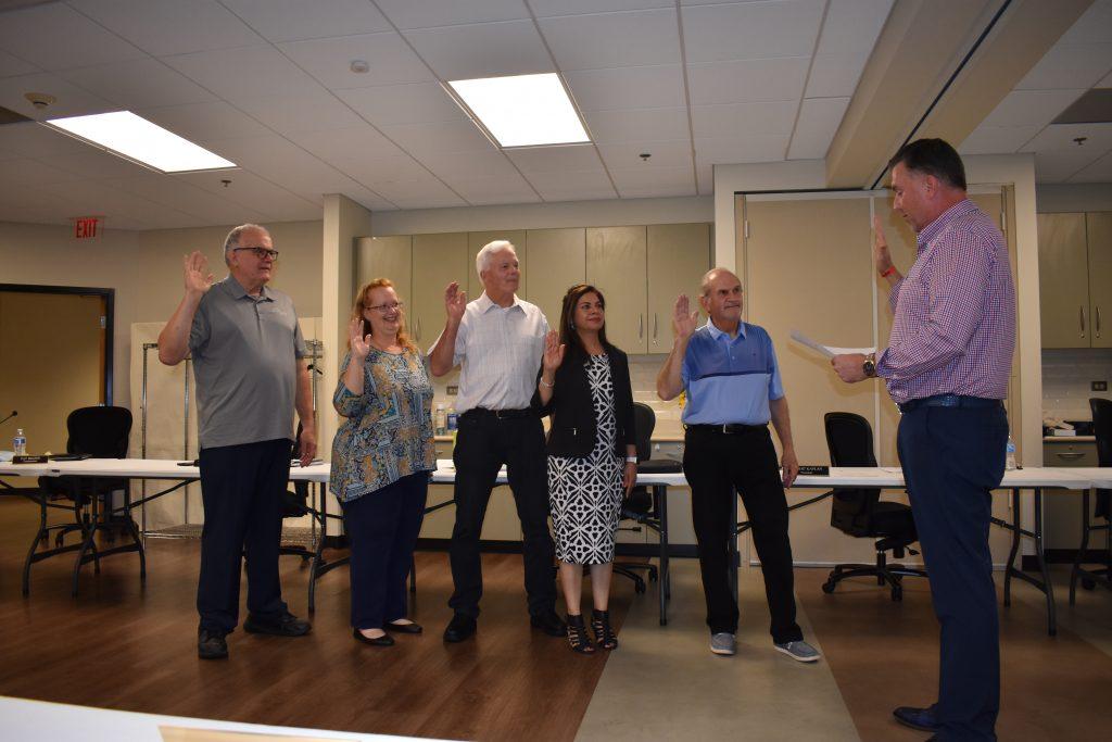 HEParks Board Members sworn in